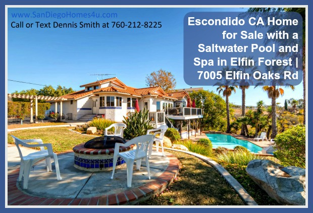 With an expansive lot area of 4.2 acres, this enchanting home for sale in Elfin Forest boasts of a beautiful orchard and a saltwater pool and spa that you and your loved ones will surely enjoy.